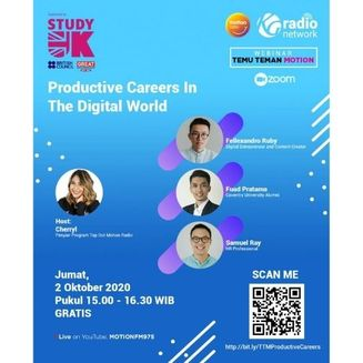 Webinar Temu Temen Motion: Productive Careers in the Digital World