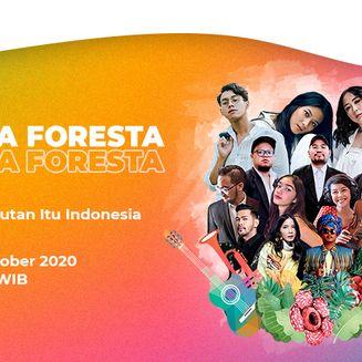 Suarakan Cinta Keindahan Hutan Indonesia, Musisi Indonesia Tampil di Konser Musika Foresta #DiRuangMaya