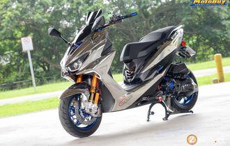 Butuh Inspirasi Buat Modif Yamaha Aerox? Contek Aja Saudaranya Ini
