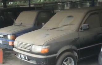 Harta Karun Berlimpah, Toyota Kijang Berdebu Baris, Sampai Kempes Ban