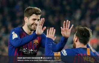 Daya Jelajah Tinggi, Gerard Pique Bukan Sekadar Bek Biasa Barcelona