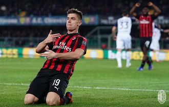 Jelang AC Milan vs Inter Milan, Krzysztof Piatek Spesialis Cetak Gol di Derbi