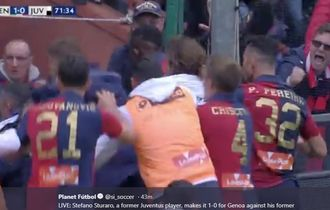 VIDEO - Gol Jarak Jauh Mantan Pemain yang Kubur Juventus di Genoa