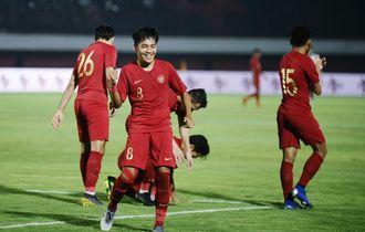Timnas U-23 Indonesia Menang Telak atas Bali United di Laga Uji Coba