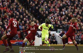 Pelajaran Berharga Barcelona dari Kekalahan Liverpool di Mata Messi