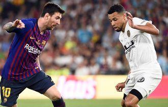 Video Messi Dipermalukan Coquelin Dua Kali di Final Copa Del Rey