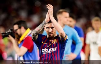 Cuplikan Video 15 Gol Ajaib Messi Musim 2018/2019