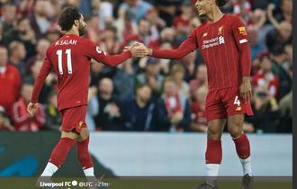 Berita Liga Inggris -  Hat-trick Mohamed Salah