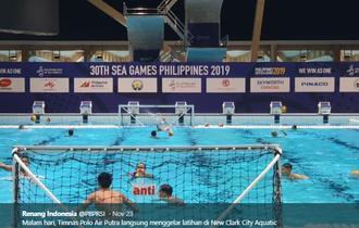 Penuh Perjuangan! Ini Kisah Tim Polo Air Putra Indonesia Persembahkan Emas Pertama di SEA Games 2019
