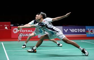 Indonesia Master 2020 - Dipaksa Bermain Hingga Rubber Game, Fajar/Rian Lolos