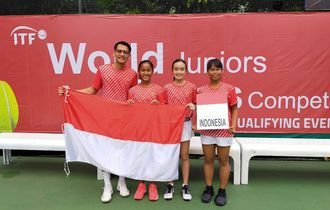 Tim Tenis Putri Junior Indonesia Percaya Diri Hadapi Sri Lanka