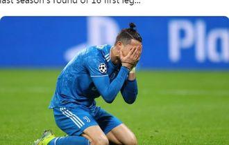Luapan Kekecewaan Ronaldo Usai Juventus Kalah di Liga Champions