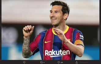 Lionel Messi Akui Sudah Tidak Tertarik Mencetak Gol di Barcelona
