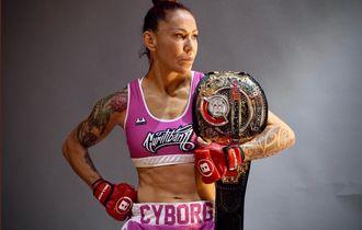 Bellator 249 - Sejarah Tercipta, Cris Cyborg Kuasai 4 Dunia MMA