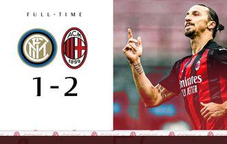 Pelatih AC Milan Akui Paksa Zlatan Ibrahimovic Main 90 Menit Walau Kelelahan di Derby della Madonnina