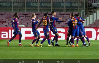 Makna Selebrasi Gol Antoine Griezmann ke Gawang Athletic Bilbao