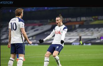 Hasil Liga Inggris - Bale dan Kane Trengginas, Tottenham Ukir Rekor Gol dan Bantai Crystal Palace