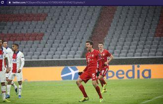 Kebobolan 3 Gol dari PSG, Bayern Muenchen Akhirnya Keok Juga di Liga Champions