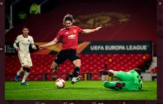 Diisukan Akan Hengkang, Cavani Berambisi Beri Kenangan Apik di Man United