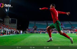Jadi Dewanya Hatrik, Ternyata Ronaldo Lembek di Liga Italia dan Inggris