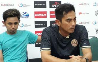 PSS Sleman Tundukkan Arema FC, Seto Nurdiantoro Merasa Beruntung