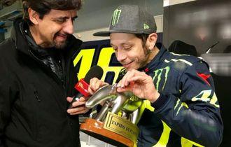 MotoGP - Ini Hal yang Membuat Valentino Rossi Takut di Dalam Trek