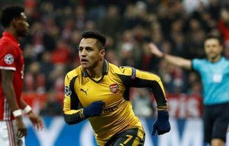 Undangan buat Alexis Sanchez ke Bayern Muenchen