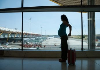 Catat! Ini Dia Usia Kehamilan Yang Pas Bepergian Naik Pesawat