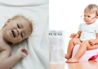 Bayi Susah Buang Air Besar? Begini Cara Mengatasinya ya Moms