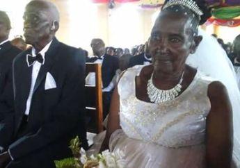 Wah, Perempuan Tua yang Masih Perawan Ini Menikah di Usia 83 Tahun