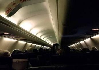 Lampu Pesawat Diredupkan Saat Take Off dan Landing, Apa Alasannya?