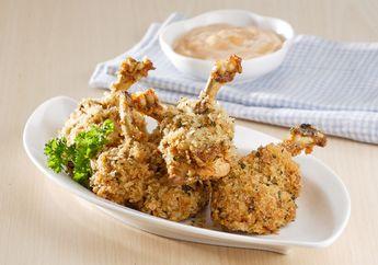 Chicken Drumstick, Crunchy-nya Bikin Si Kecil Doyan Makan