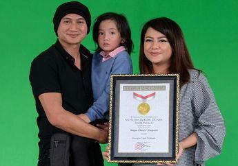 Berkat 'Telur Dadar', Anak Anji Manji Meraih Penghargaan MURI