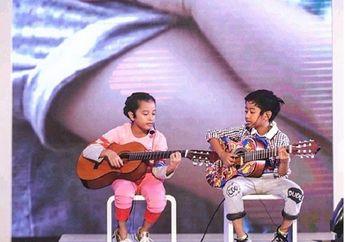 Sukses Bernyanyi di Atas Panggung, Dua Anak Widi Mulia Tuai Pujian
