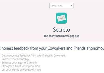 Secreto Site, Situs Kirim Pesan Rahasia Anonymous yang Lagi Ngetren