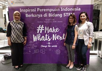 Microsoft Indonesia Mendukung dan Mengajak Wanita Untuk Dalami Bidang STEM