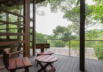 Uniknya Resort Berbahan Kayu, Menggantung di Antara Pepohonan Kapulaga