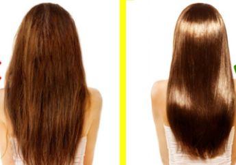 Mudah! Bahan Alami Ini Bisa Meluruskan Rambut Secara Permanen