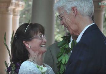 Saling Menunggu Hingga Menikah di Usia 71 Tahun, Pasangan Ini Buktikan Adanya Cinta Sejati meski Begitu Rumit