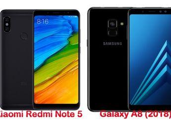 Perbandingan Performa Redmi Note 5, OPPO F7, Galaxy A8 (2018) dan Vivo V9