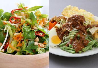 Terbuat dari Sayur Mayur, Lebih Sehat Salad atau Gado-gado ya?