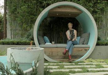 Pipa Beton Sebagai Elemen Taman, Desainnya Juara di Australia