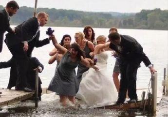 (Foto)  8 Musibah Dalam Pesta Pernikahan Ini Mungkin Bakal Jadi Kenangan Terindah, Nomor 7 Lucu Banget