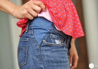 Jangan Buru-buru Dibuang, Ada Cara Mudah Perbaiki Masalah Pada Celana Jin