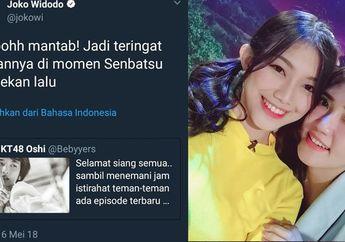 Admin Akun Twitter @Jokowi Dipecat, Begini Reaksi Member JKT48
