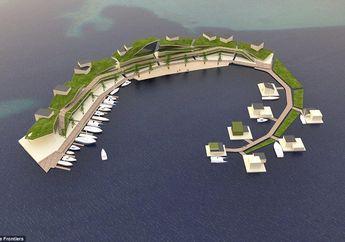 Negara Terapung Pertama di Dunia Akan Diluncurkan di Samudra Pasifik pada 2022, Tertarik Pindah?
