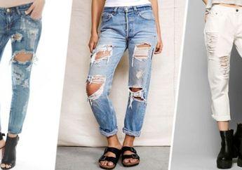 Awas! Inilah Bahaya Menggunakan Celana Jeans yang Sobek-sobek