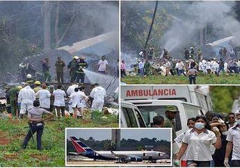 Pesawat Cubana de Aviacion Jatuh di Kuba, 100 Penumpang Meninggal