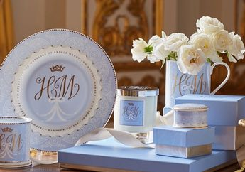 Dilapisi Emas, Merchandise Resmi Pernikahan Pangeran Harry dan Meghan Markle Harganya Fantastis!