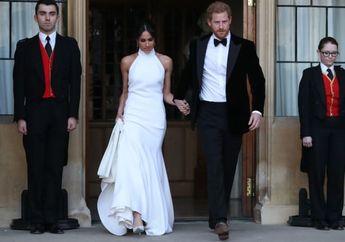 Meghan Markle Tampil Elegan dengan Gaun Kedua, Ternyata Inilah Sosok Desainernya